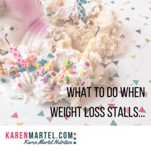 Weight loss stalls and how to blow past them