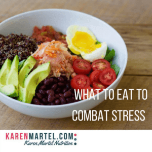 Guest post: What to eat to combat stress