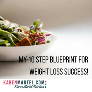 My 10 step blueprint for weight loss success!