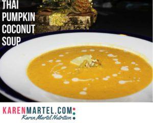 Thai Pumpkin Coconut Soup