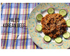 Paleo Korean Beef