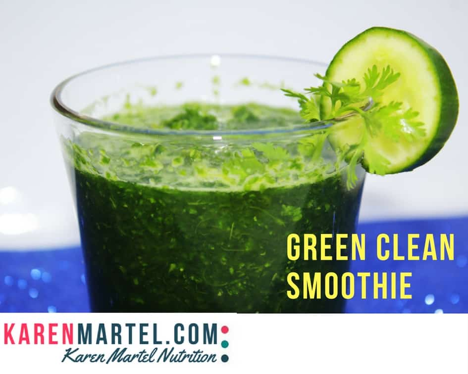 Green Clean Smoothie Recipe