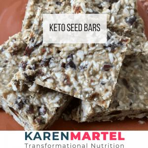 Keto Seed Bars