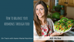 Interview with Alli Mcfee. How to Balance your Hormones through Food.