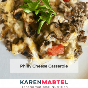 Philly Cheese Casserole