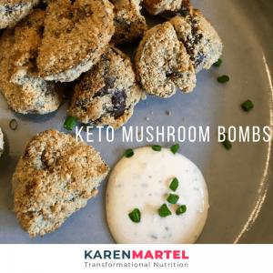 Keto Mushroom Bombs